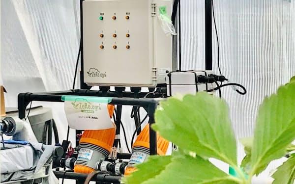 ルートレック・ネットワークスは肥料や水やりを自動化するシステムを提供する