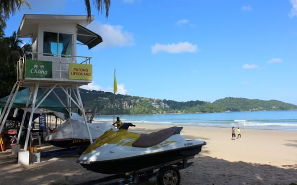 タイ・プーケットは外国人に人気のビーチリゾート(1日)