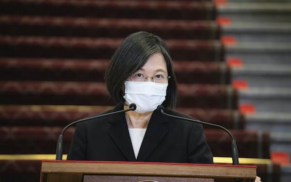 台湾は、中国共産党への嫌悪感を強めている=AP
