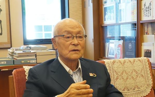 がんこフードサービス創業者の小嶋元会長