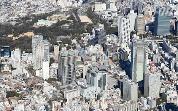 2000億円超を投じ、劇場やホールを備えた高層ビルを2028年度に建設する(東京・赤坂)