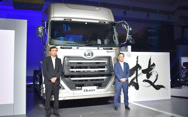 UDトラックスはドライバーの負担を軽減する新たな運転支援機能を発表した