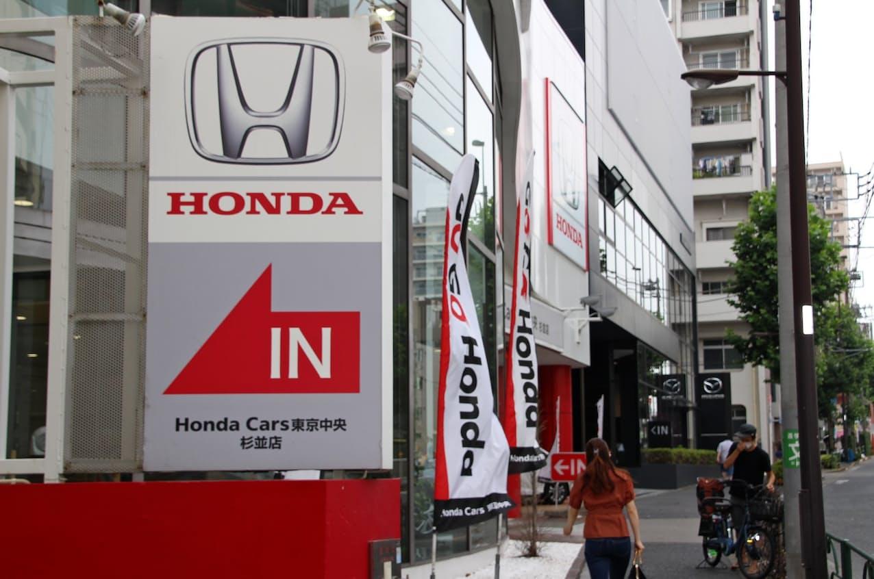 ホンダは半導体不足の影響が大きく、21年1~6月の新車販売で4位になった