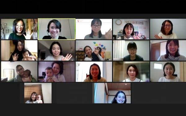 「育休スクラ」は、オンラインを使って受講者同士が交流しながら学ぶ