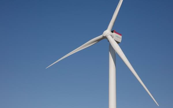デンマークで試験するシーメンスガメサの風力発電機