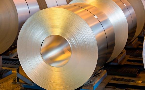 亜鉛は鋼材のめっき加工が主用途
