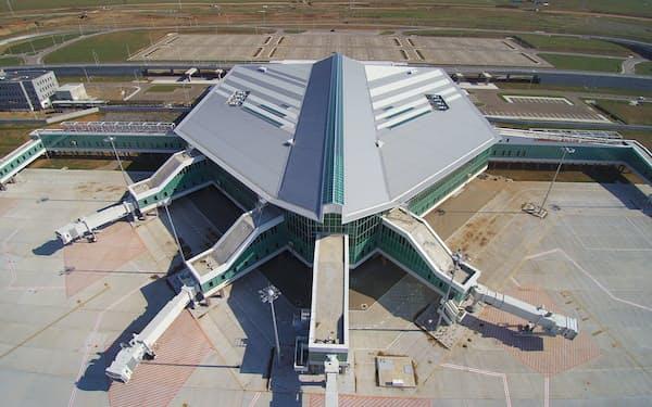 新ウランバートル国際空港の外観