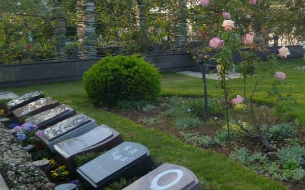 死後事務委任契約では樹木葬など自分の望むお墓を決めておくこともできる