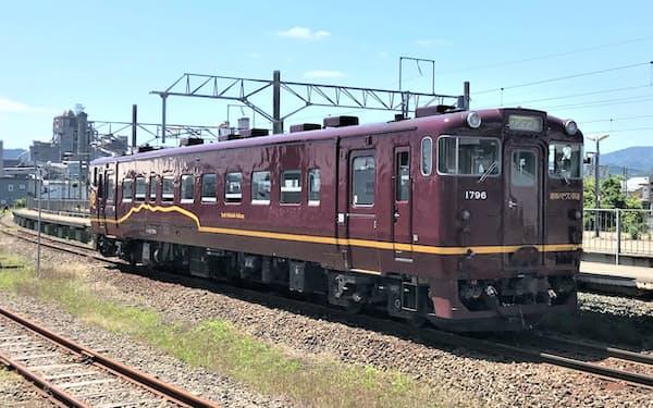 道南いさりび鉄道は北海道の津軽海峡沿岸を走る