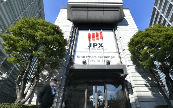東証は現在の4市場を「プライム」など3市場に再編する