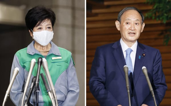 政府と東京都のギクシャクした関係がコロナ対応に影を落とした(20年12月)