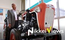 ディーゼル、脱炭素でも粘る 建機や農機でなお強み