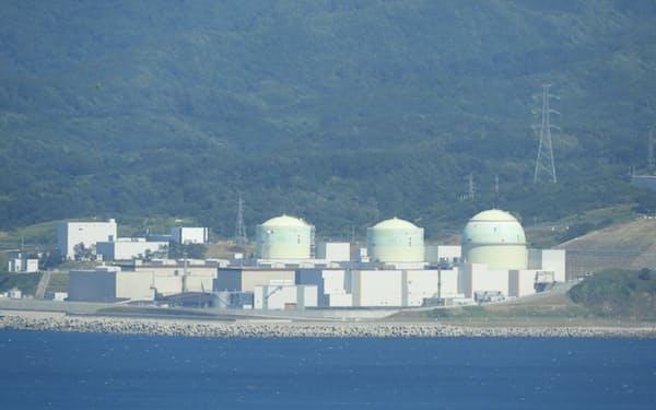 北海道電力の泊原発1~3号機