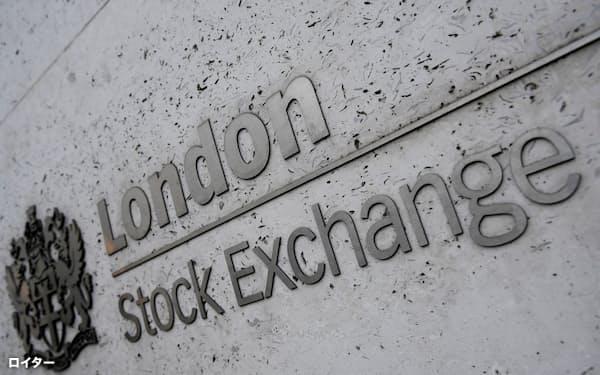 英国はEU離脱で共通の金融免許枠組みを外れた(ロンドン証券取引所)=ロイター