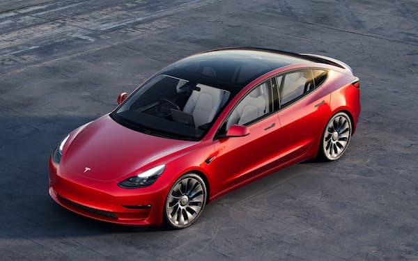 米中両国で生産する小型車「モデル3」の販売が好調だった