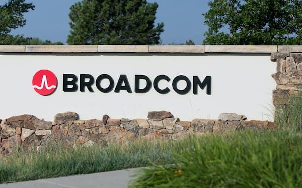 米ブロードコムの事業拠点(米コロラド州)=AP