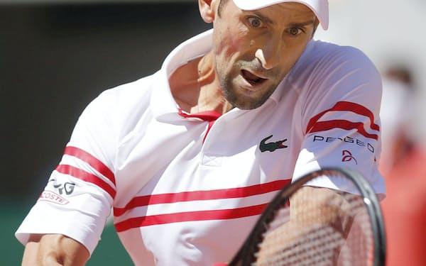 テニスの男世界1位のジョコビッチ=ロイター