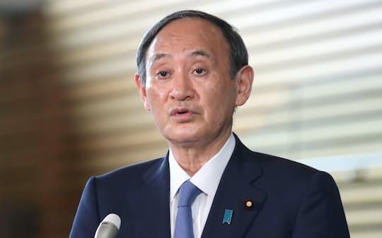 菅義偉首相(1日)