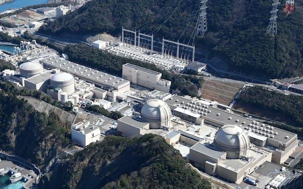 関電の大飯原発(福井県おおい町)