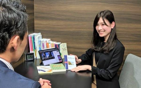 プログリットはコンサルタントの個別面談で英語学習を指導する