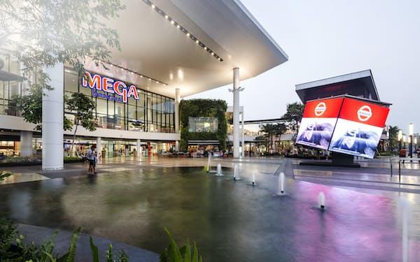 サイアム・フューチャーが運営する大型商業施設「メガバンナー」(同社のウェブサイトより)