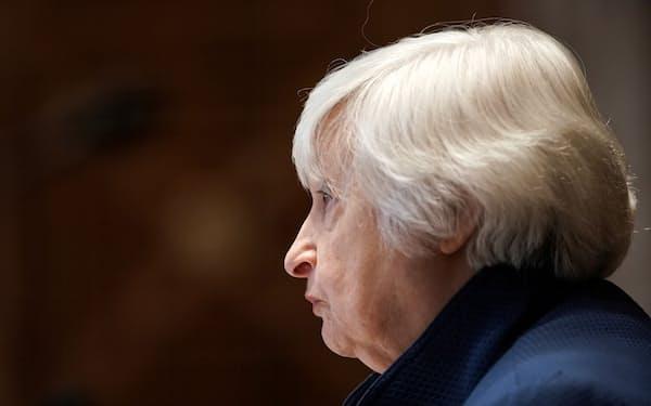 イエレン米財務長官は議会に債務上限問題への早急な対応を要請した=ロイター