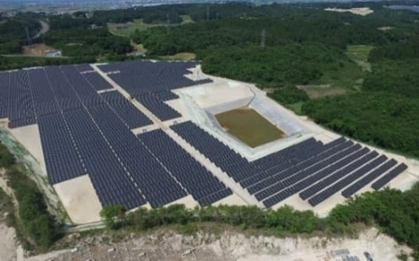 温暖化ガスの排出量を削減するために太陽光発電を大量に導入する