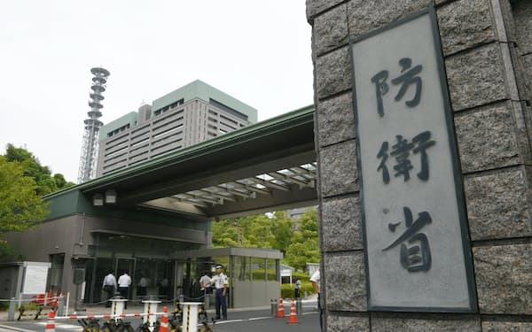 東京・市ケ谷の防衛省
