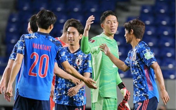 日本は9月の連戦でスタートダッシュを決めたいところだ(6月7日のW杯アジア2次予選のタジキスタン戦)