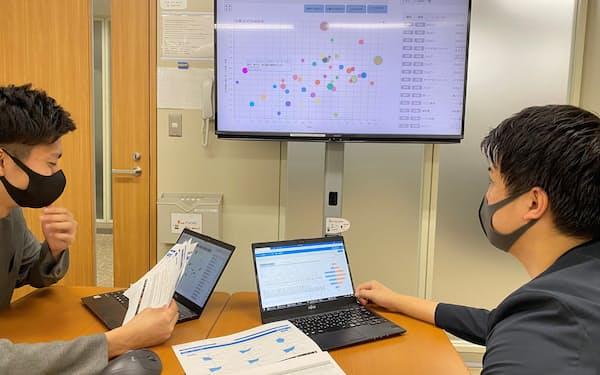 新システム「フーデータ」を使って食品開発を効率化する