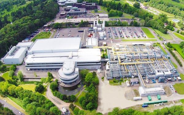ニューポートは英西部ウェールズに工場を持ち、自動車向け半導体などを生産する(聞泰科技の発表資料より)