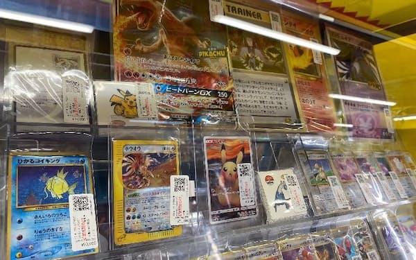 まんだらけ中野店カード館(東京都中野区)の店頭