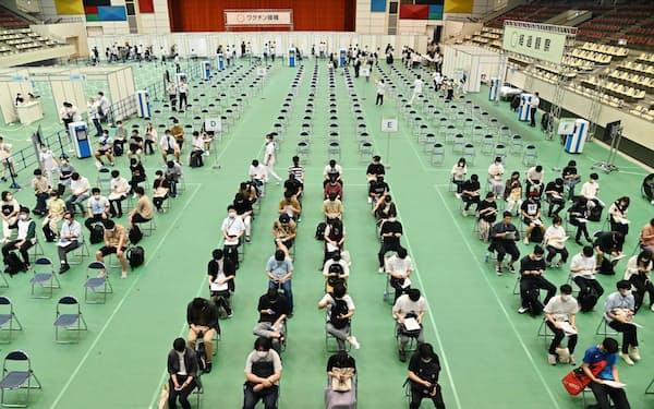学生のワクチン接種率が6割超になった近畿大(大阪府東大阪市)