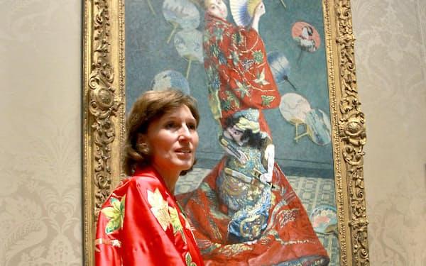 2015年、米ボストン美術館のイベントが「文化の盗用」だとして批判を受けた=John Blanding/The Boston Globe via AP