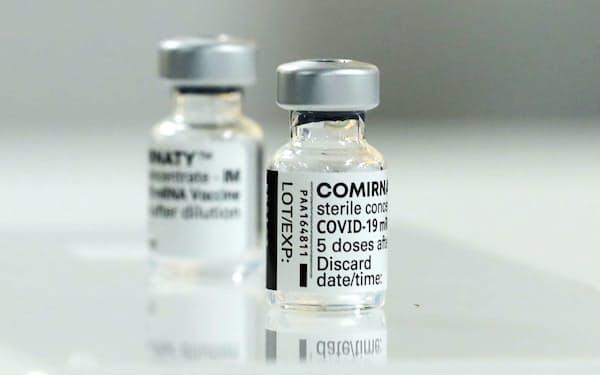 ファイザー製の新型コロナウイルスワクチン