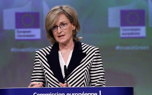 EUのマクギネス欧州委員=ロイター