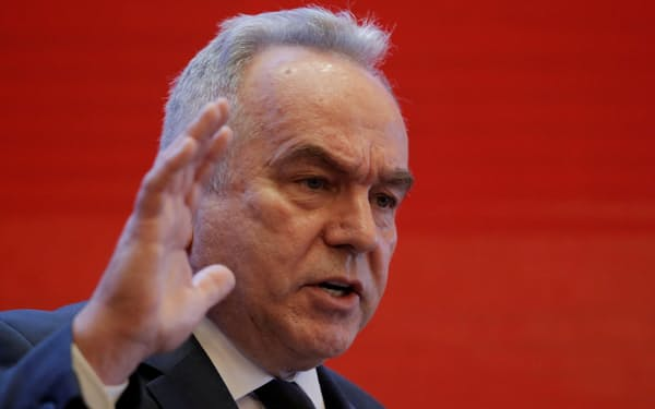 キャンベル氏は国際機関からの台湾排除を推進する中国を批判した=ロイター