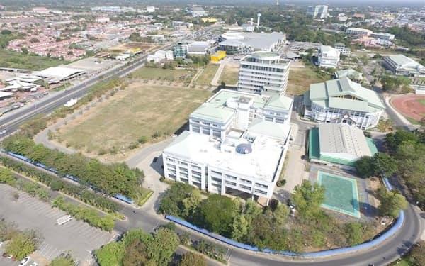 静岡ガスなどが太陽光発電設備を設置するタイのラーチャパット・マハサーラカーム大学