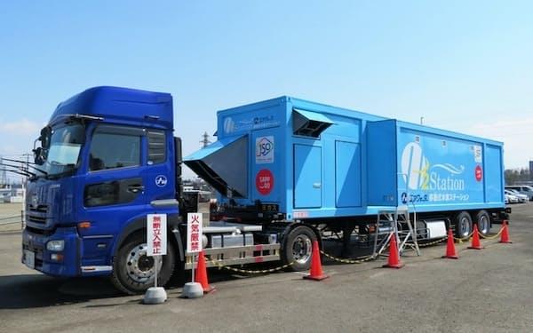 脱炭素の流れで水素活用の機運は高まっている(札幌市の水素ステーション)
