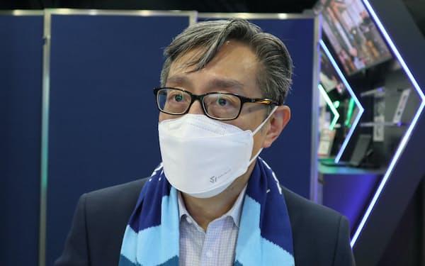 サイバーポートの任景信CEOは香港の将来性に自信を示す