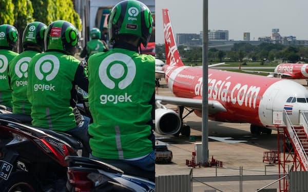 エアアジアはゴジェックのタイ事業を買収する=AFP時事とゲッティイメージズ