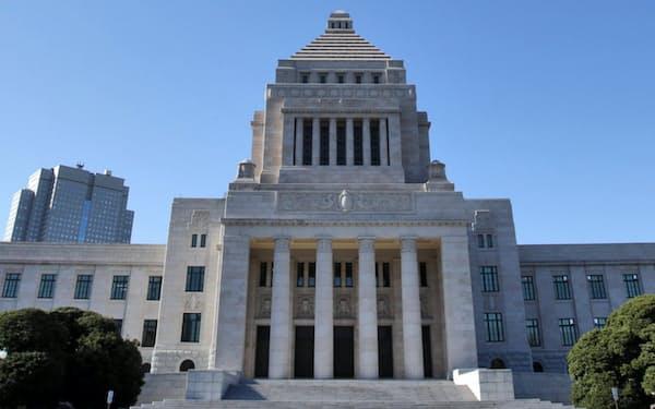国会では近年、基本法づくりが盛んである