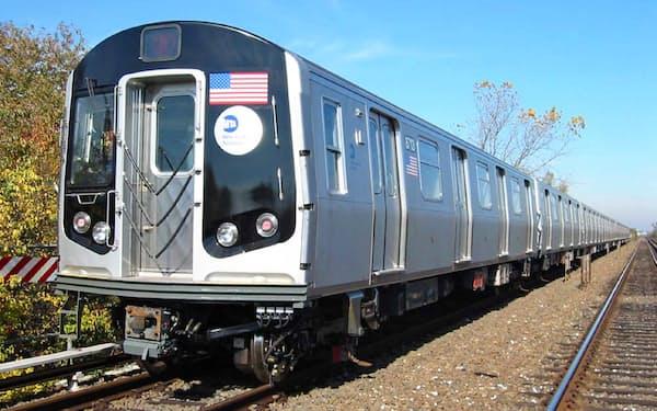 鉄道ビジネスは海外での拡大が期待されている(写真は川崎重工のニューヨーク地下鉄の車両)