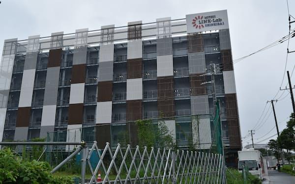 「三井リンクラボ新木場1」には医薬品の研究に必要な設備がある