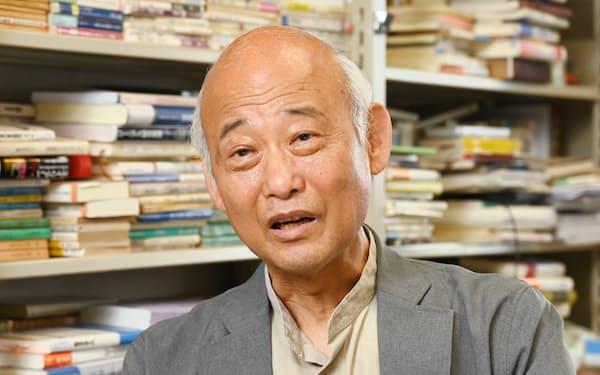 哲学者の野矢茂樹氏