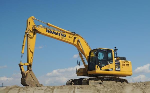 コマツは17年に設立したランドログを進化させ、建設現場のDXを進める