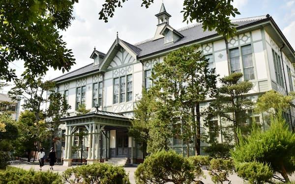 奈良女子大学の記念館(奈良市)