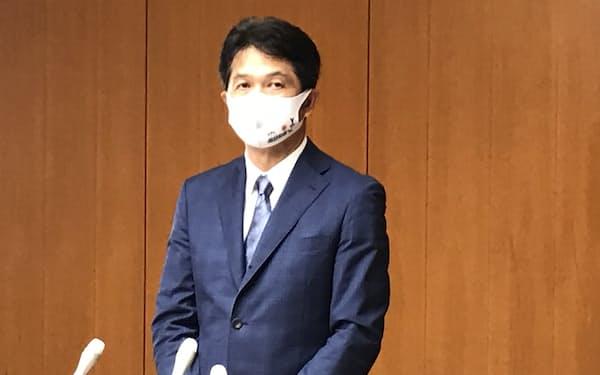 大井川知事は五輪観客対応について「このような形で決まると思わなかった」と述べた(8日夜)