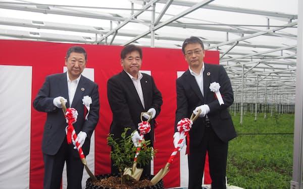 西武HDはグループとして初めて農業事業を展開する
