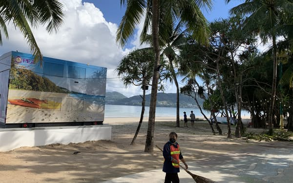 タイ政府はプーケットの観光回復を優先させた(2日、プーケット)